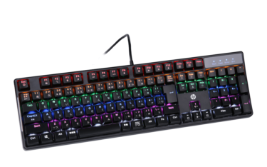 【GK320 Red】HP製 赤軸採用の低価格国産ゲーミングキーボード