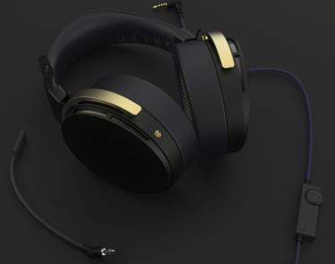 【SHIDO】ONKYO製 ゲーミングヘッドセット&コントロールアンプが7月8日に発売