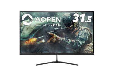 Acerの31.5型湾曲ゲーミングモニター「32HC5QRPbiipx」などが7月10日発売