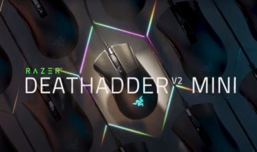 【Razer DeathAdder V2 Mini】62g小型軽量で手が小さい人でも扱いやすいゲーミングマウス