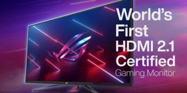 ASUSから43型/4K/120Hz対応のHDMI2.1取得ゲーミングモニターを発表。FPSやTPSに有効な新機能を紹介