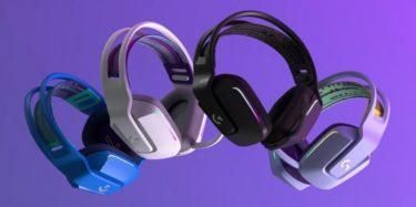 Logicool G【G733】超軽量ワイヤレスヘッドセットを発表、低遅延かつ高性能で4色のカラバリから選べる【ロジクール】