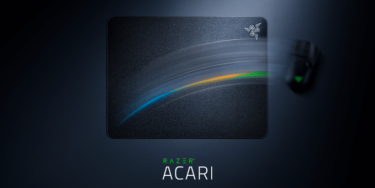 【Razer Acari】マウスの追跡精度と応答性を極限まで高める「超低摩擦」マウスパッドを発表。420×320mmと大きくローセンシでも使いやすい