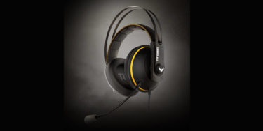 【ASUS TUF Gaming H7 Core】メガネ装着時の減圧クッションと急速冷却イヤーパッドで快適なゲーミングヘッドセット