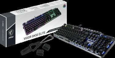 MSI【VIGOR GK50 ELITE】2種類のKailhスイッチを採用したゲーミングキーボードを発表