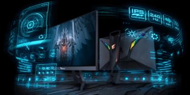 GIGABYTE「AORUS FI25F」24.5型/240Hz/応答速度0.4msのゲーミングモニターを発表