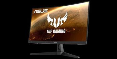 ASUS「TUF Gaming VG27VH1BR」PS5向け27型/165Hz/応答速度1ms/1500Rの湾曲ゲーミングモニターを発表