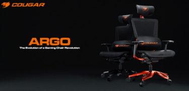 COUGAR「ARGO」通気性の高いメッシュ素材を取り入れたゲーミングチェア