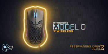 Glorious「Model O ワイヤレス」軽量ハニカムシェル採用の軽量ゲーミングマウスを発表。海外では9/23から予約開始