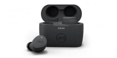 JAYS「m-Five True Wireless」防水対応の低価格完全ワイヤレスイヤホン