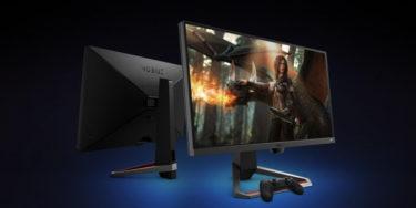 BenQ MOBIUZ「EX2510」「EX2710」144Hz/HDRi技術搭載ゲーミングモニター2種を発表