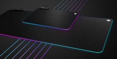 ROCCAT「Sense AIMO XXL」光る大判サイズの布製マウスパッドを発表