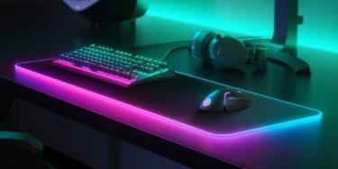 SteelSeries「QcK プリズム・QcK」3XL/4XL/5XLサイズの超大型ゲーミングマウスパッドを追加