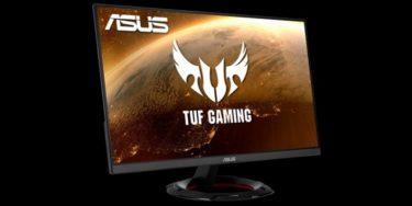 ASUS、23.8型/165Hz/応答速度1msのゲーミングモニター「TUF Gaming VG249Q1R-J」を発表