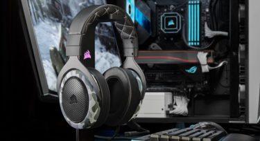CORSAIR「HS60 HAPTIC」迫力ある重低音とサラウンド対応のゲーミングヘッドセットを発表