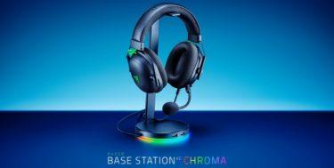Razer「Base Station V2 Chroma」7.1chサラウンド対応の2ポートUSB/3.5mmポート搭載ヘッドセットスタンドを発表