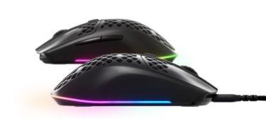 SteelSeries「Aerox 3」「Aerox 3 Wireless」ハニカムシェル採用の超軽量ゲーミングマウスを2製品発表