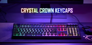G.SKILL「Crystal Crown Keycaps」ライティングが映える2層構造のキーキャップを発表