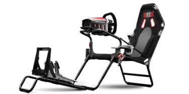 「Next Level Racing GT Lite」豊富な調整機能と収納性が特徴の折り畳み式ポータブルレーシングシミュレータ