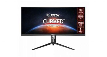 MSI「Optix MAG301CR2」29.5型/200Hz/応答速度1msの湾曲ゲーミングモニターを発表
