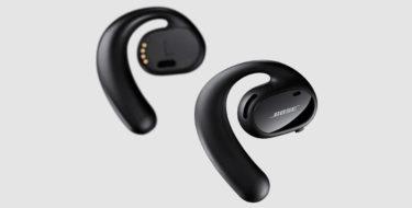 Bose「Sport Open Earbuds」耳を塞がない独自のOpenAudio技術を採用したワイヤレスイヤホンを発表