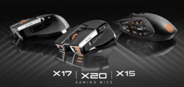 EVGA「X20」を含むLOFを精密検出するゲーミングマウス3製品を発表