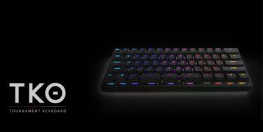 Kinesis「TKO」Kailh製Boxスイッチを採用した60%サイズのゲーミングキーボードを発表